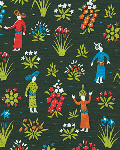 769586C © CSA Images Mobile Pattern of Women in a Garden