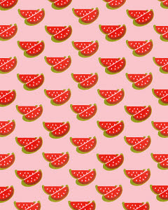 771934 © CSA Images Mobile Watermelon Pattern