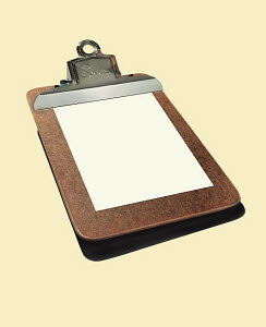 R115010 © CSA Images Mobile Clipboard